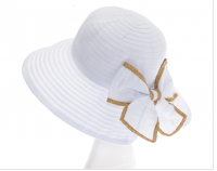 Split Back Ribbon Sunhat