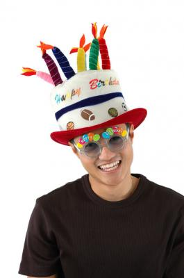Amazing Sports Birthday Cake Hat Elope A7702 Funny Birthday Cards Online Inifofree Goldxyz