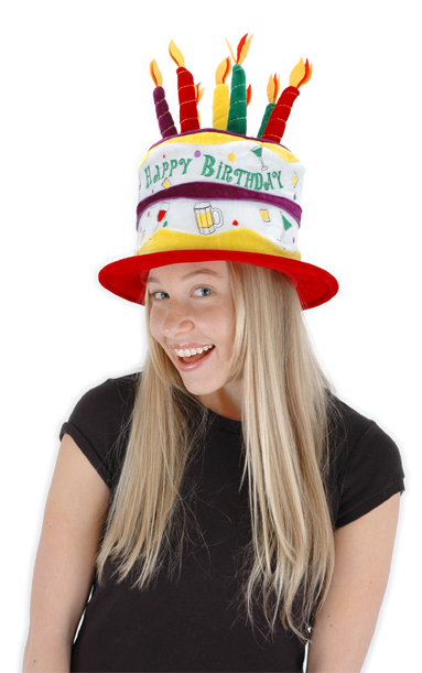 Cheers Birthday Cake Hat