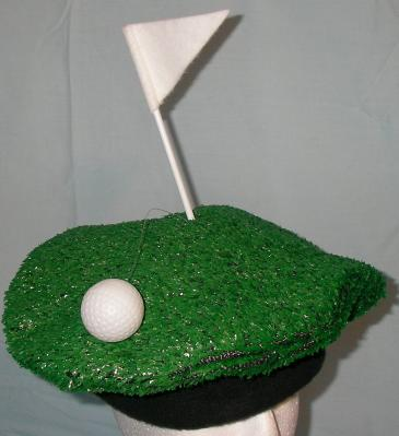 Bill Murray s favorite Golf hat. Comes with Artificial Greens Turf 1e2732a2232