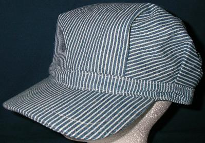 Railroad engineer hat for Conductor hat template